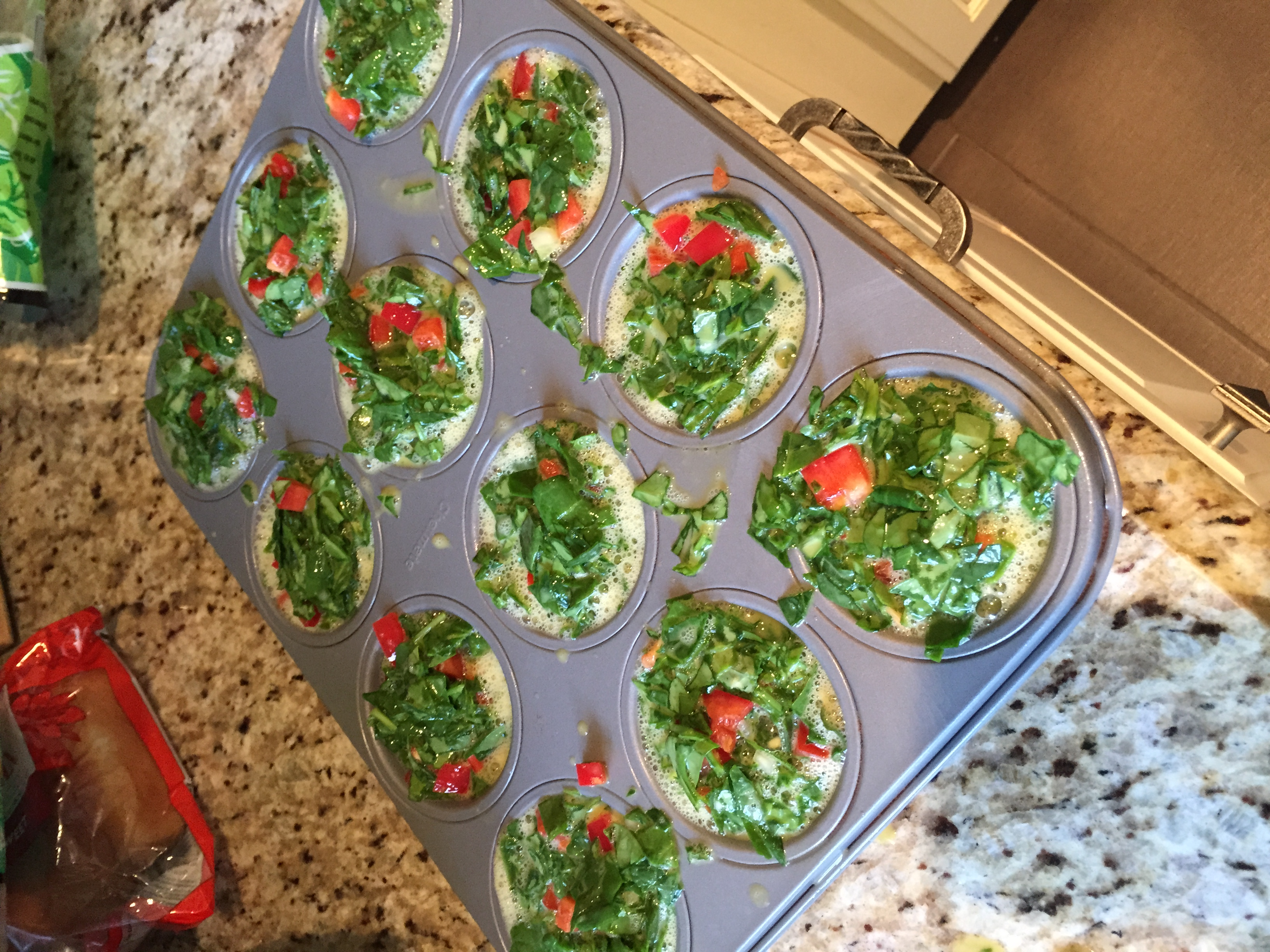 21 Day Fix Extreme Mini Vegetable Egg Cups Get Fit