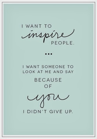 Join the Team - Because of you I didn't give up