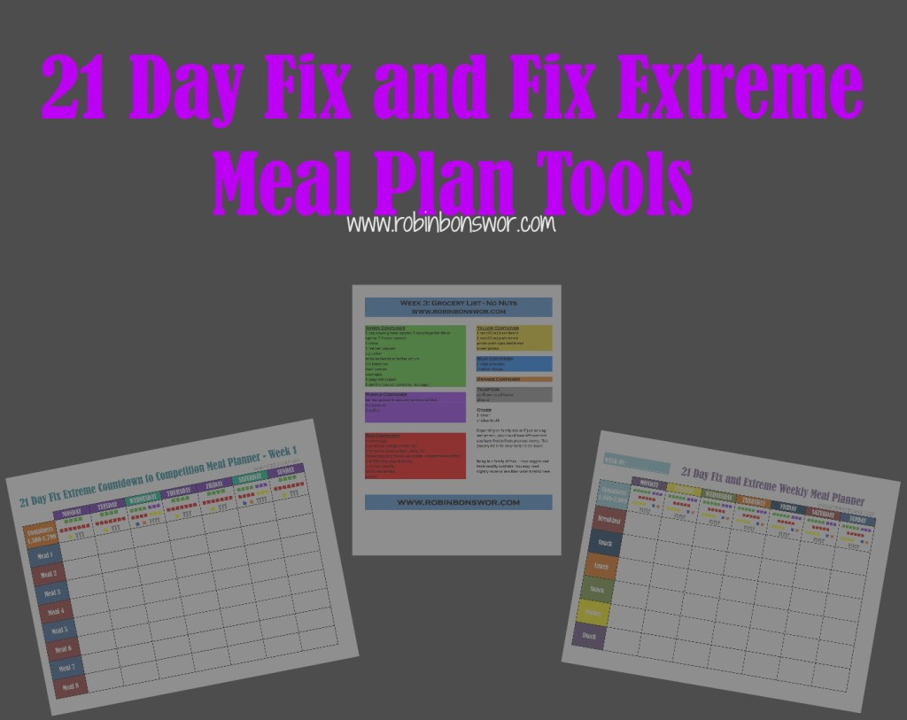 21 Day Fix Meal Plan Tools | Get Fit. Lose Weight. Feel Like You Again.