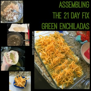 21 Day Fix Green Enchiladas