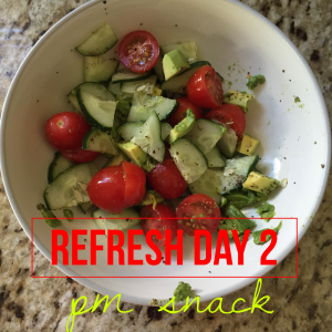 Day 2 PM Snack